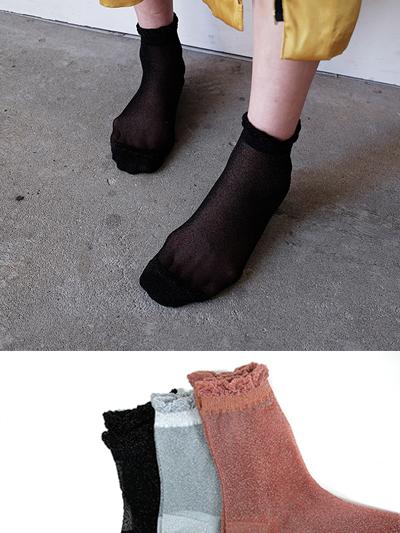 반짝시스루-socks