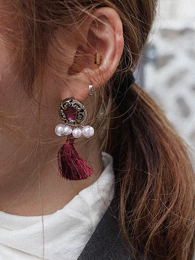 블랑-earring