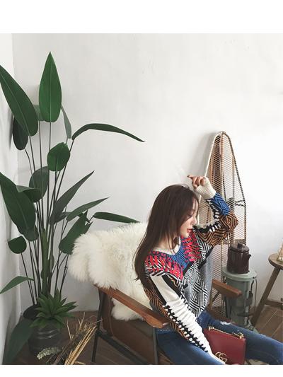 링기리맨투맨-knit