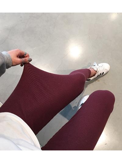 잔잔골지레깅스-leggings
